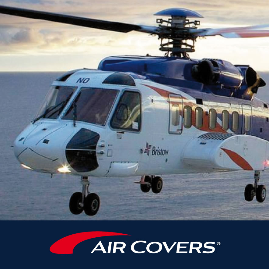 Aircovers - Brand redesign, web & print