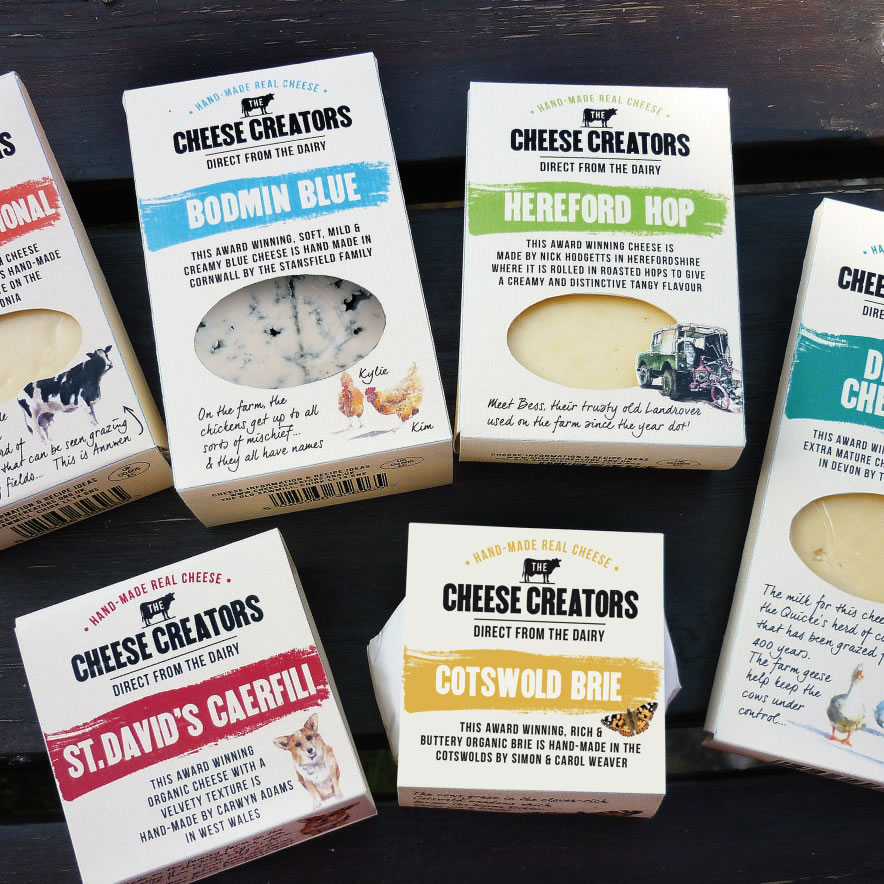 Cheese Creators - brand design & packaging