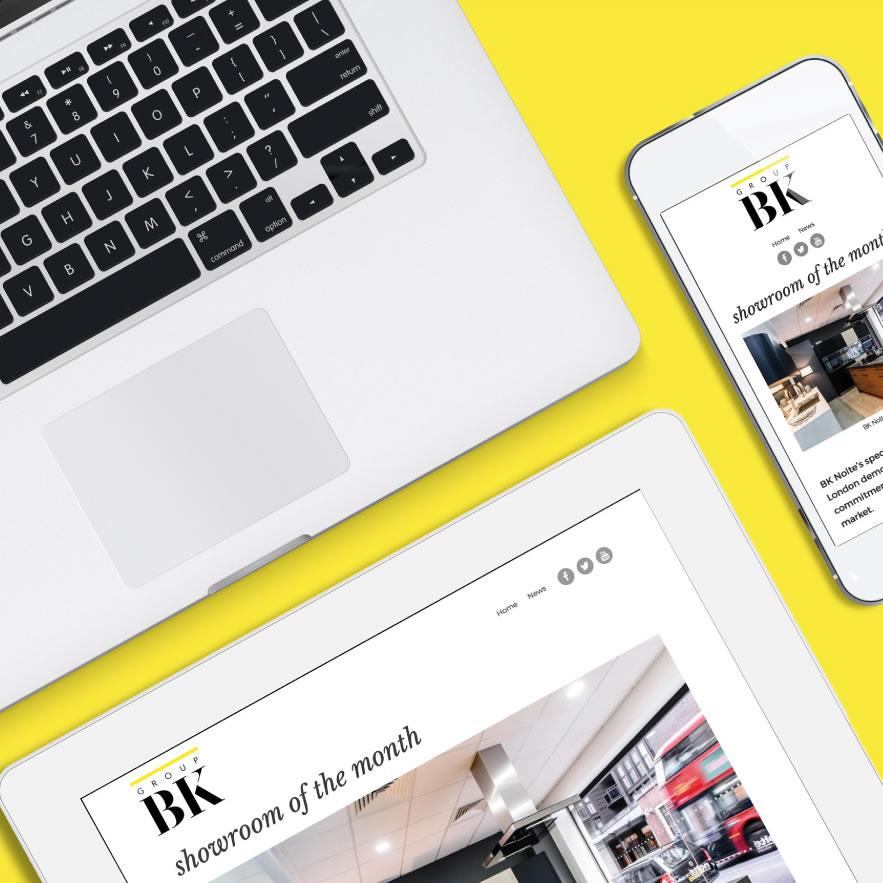 Group BK - Responsive Web Design